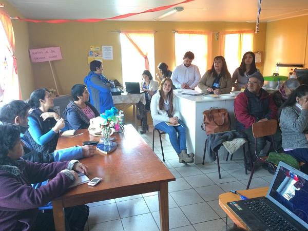 Se realiza reunión mensual del Consejo de Desarrollo del Cesfam Quillahue.