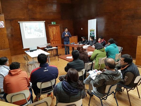 En Puerto Montt desarrollarán Curso de Administración Deportiva Nacional