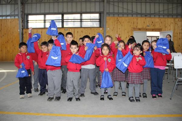 """Saesa dio inicio a campaña """"A la Escuela con Energía"""" 2017 en Chiloé"""