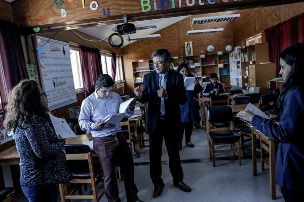 """En Calbuco Profesores logran """"buen desempeño y cumplen con lo esperado""""."""