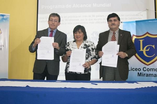 ASOCIACIÓN INTERNACIONAL DE CLUBES DE LEONES Y LICEO MIRAMAR APLICARÁN INÉDITO PROGRAMA.