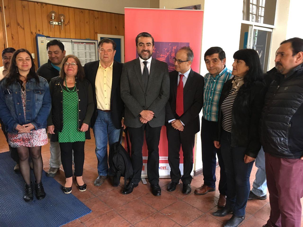 Importante seminario laboral se realizó en la ciudad de Puerto Montt.