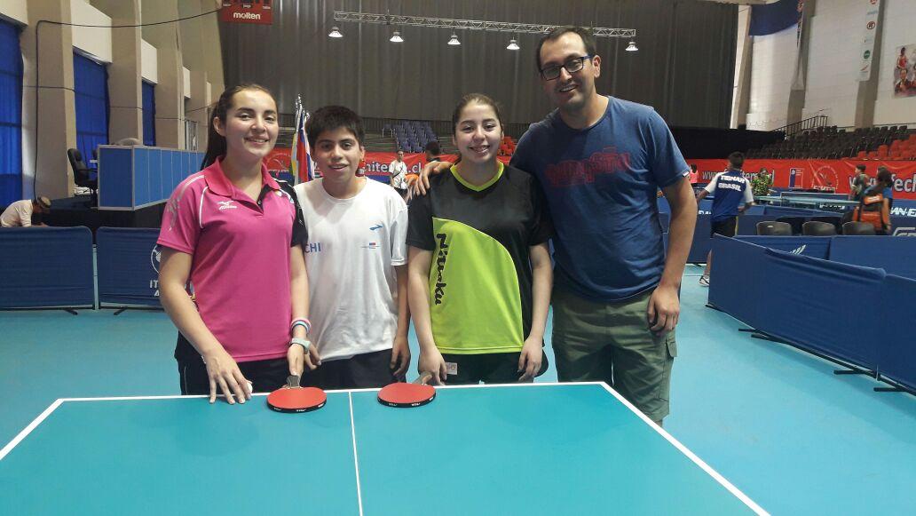 Tenimesistas de la región competirán en el Campeonato Sudamericano Infantil