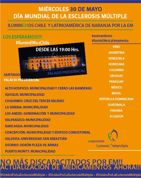 30 de mayo Dia de la esclerosis Múltiple