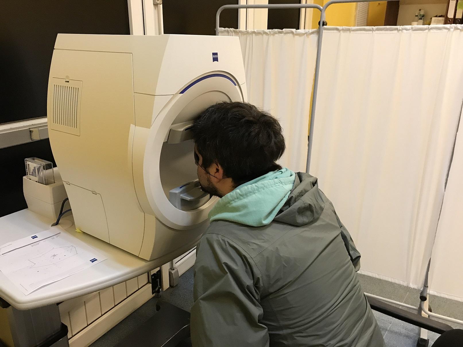 Salud Primaria de Castro, contará con nueva tecnología, para diagnosticar glaucoma.