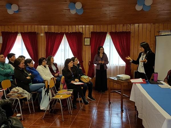 REALIZAN JORNADA INTERSECTORIAL EN CHILOÉ PARA REFORZAR ATENCIÓN DE SALUD EN RESIDENCIAS DEL SENAME