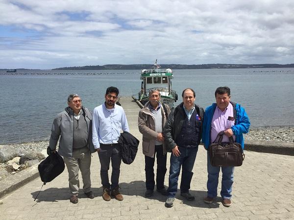 INDAP Los Lagos informó sobre Seguro Ovino a Agricultores de Isla Huar