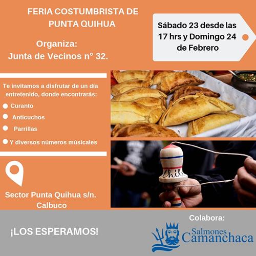 Feria Costumbrista Punta Quihua