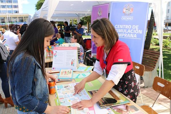 """FERIA """"PROMOCIÓN DE LA SALUD Y CHILE CRECE CONTIGO"""""""