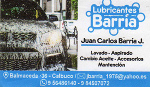 Lubricantes Barria