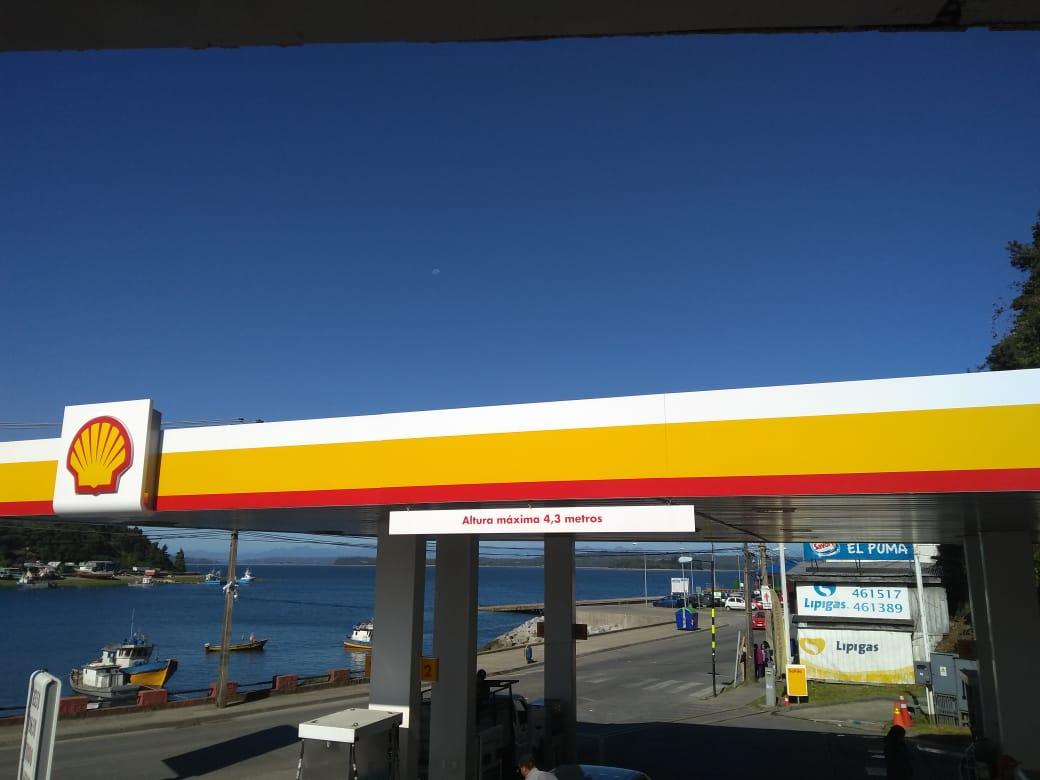 Servicentro Shell de Calbuco, fue asaltado dos veces en un fin de semana. |  Diario Digital El Calbucano