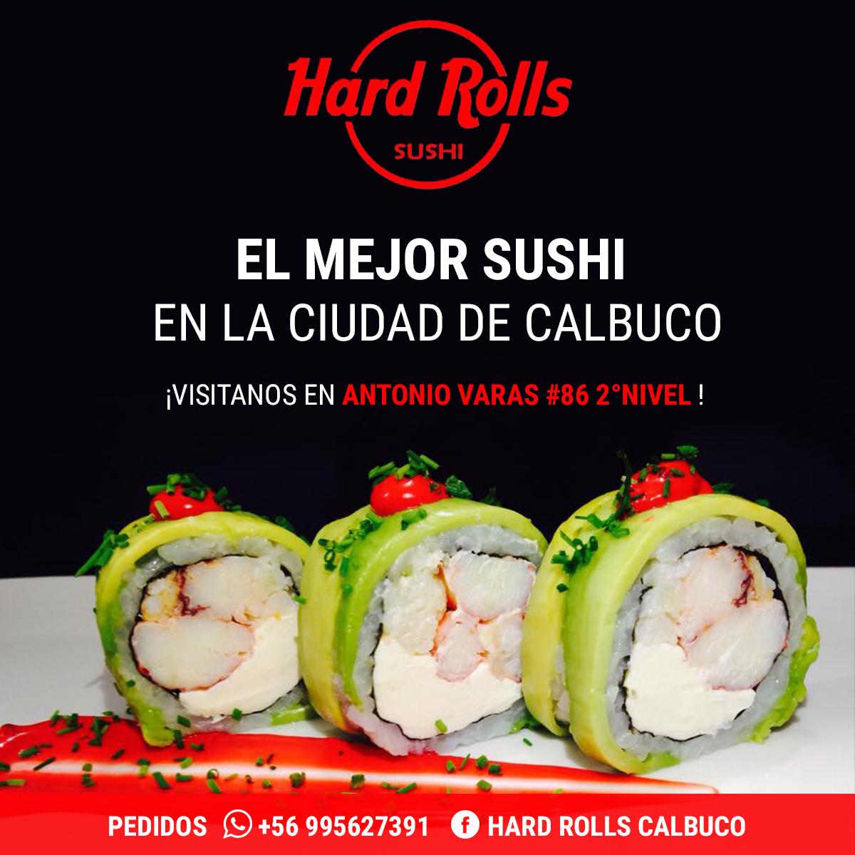 HardRolls Sushi Calbuco