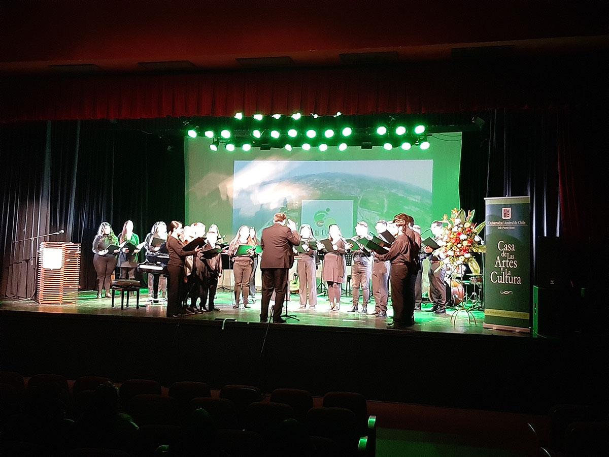 UACh Conmemoró Aniversario en Teatro Diego Rivera con Concierto de Gala
